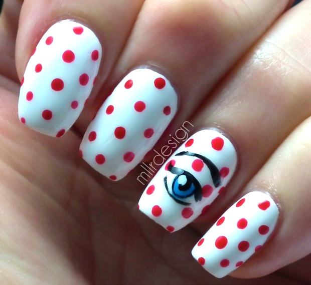 Roy Lichtenstein nails