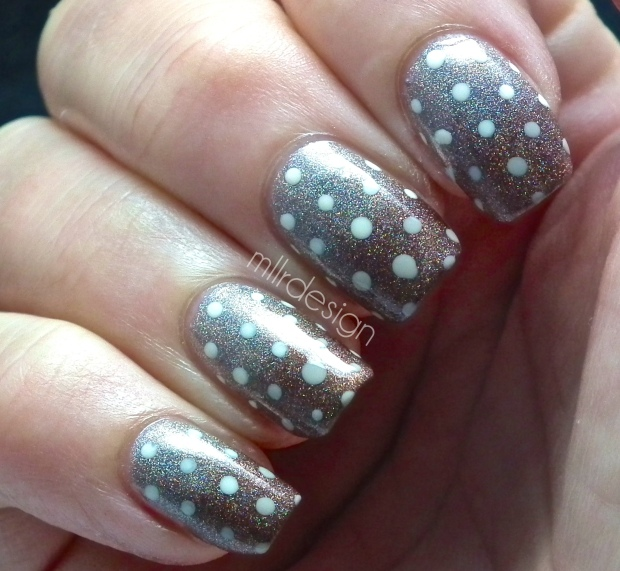 Holo gradient with dots
