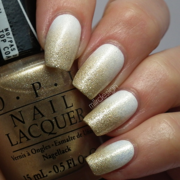 Gold white gradient