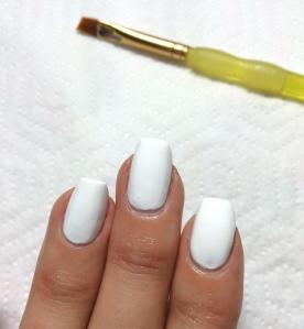 goopy white