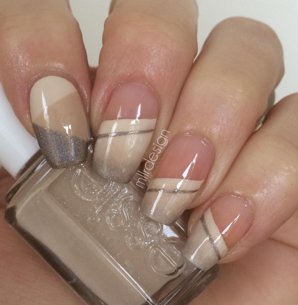 nail designs beige - nail arts