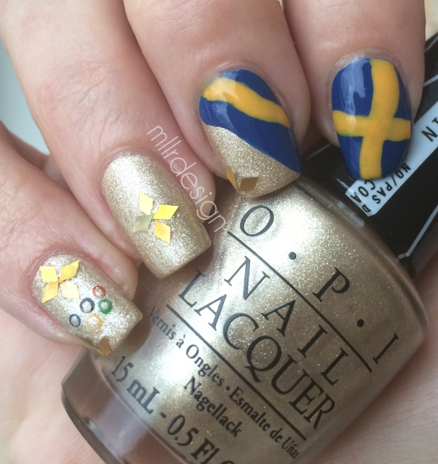 Swedish Olympic nails
