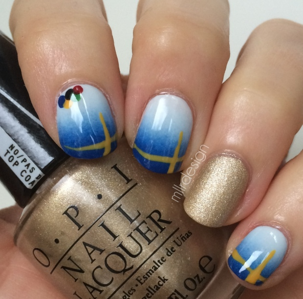 Olympic nails, Sweden