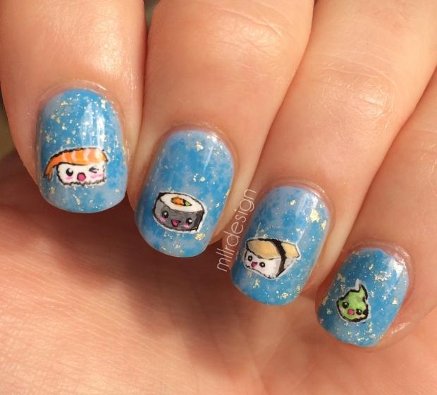 Sushi nails