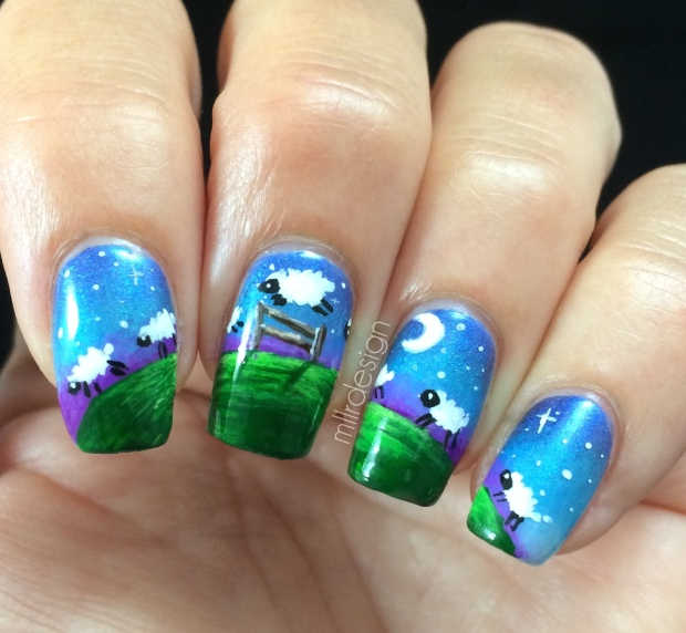 Counting sheep mani