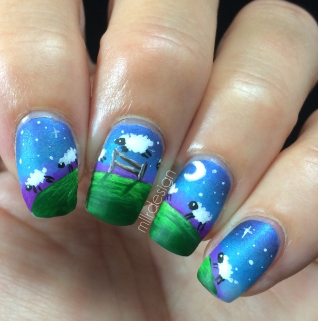 Counting sheep matte