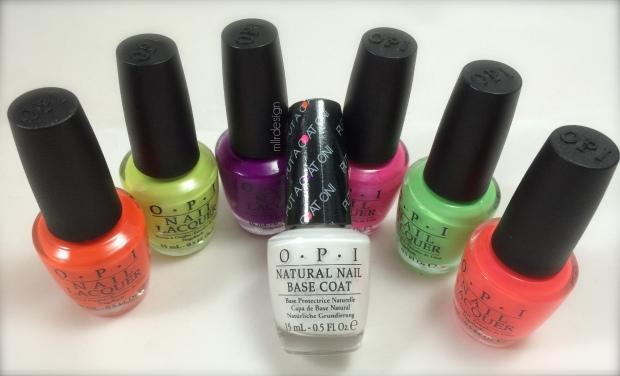 OPI Neons 2014