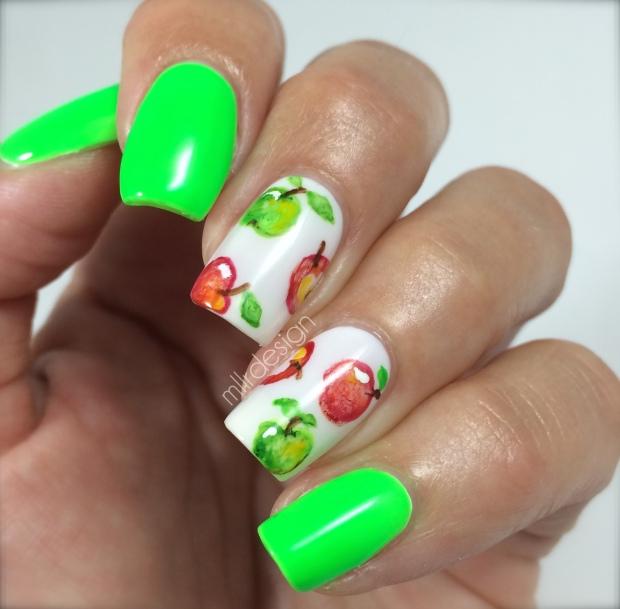 Watercolor Apples