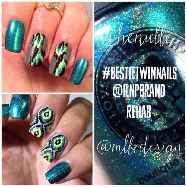 Bestie twin nails