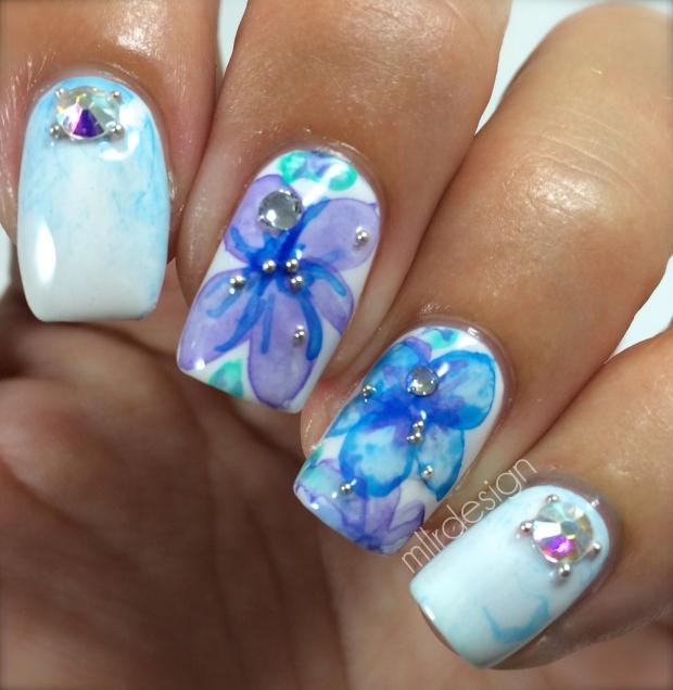 Flowers & bling