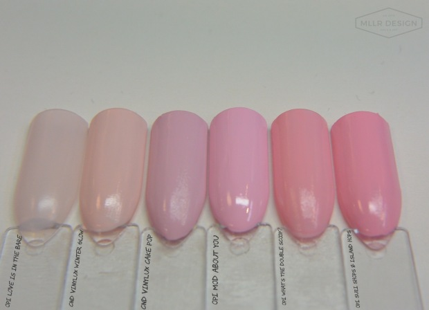 OPI What's the Double Scoop? dupes & comparisons